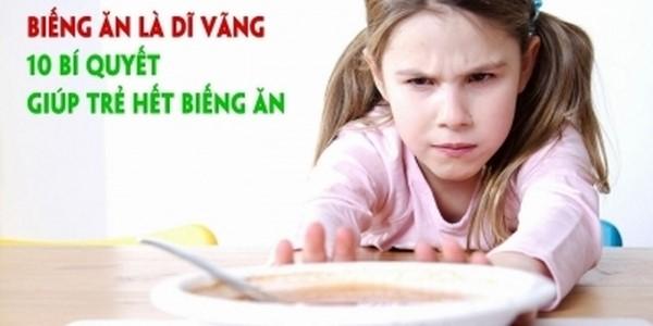 """""""Đập tan"""" chứng biến ăn của trẻ chỉ với 3 khóa học nuôi con trên UNICA"""