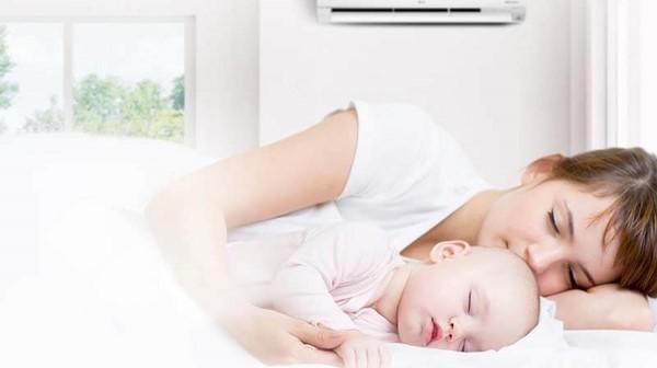 Cách dùng điều hòa cho trẻ sơ sinh như thế nào để đảm bảo an toàn?