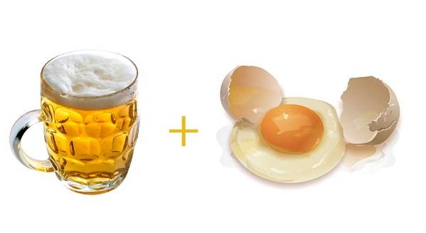 Bí quyết sử dụng mặt nạ bia trứng gà giúp bạn trẻ ra cả chục tuổi