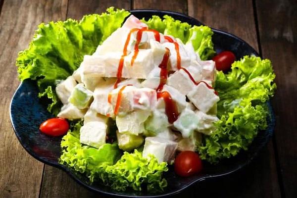Hướng dẫn cách làm salad hoa quả đơn giản tại nhà