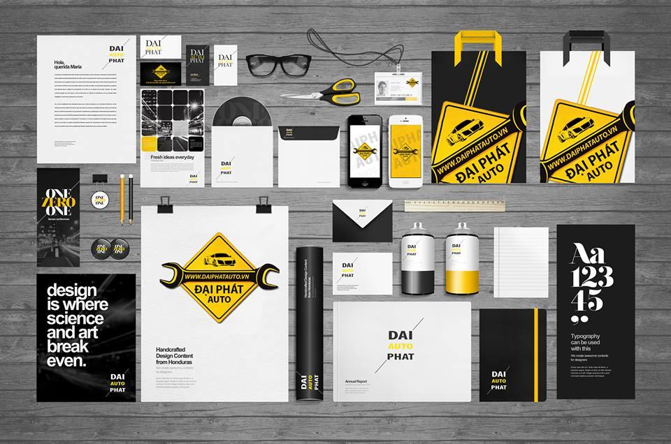 Làm thế nào để thiết kế bộ nhận dạng thương hiệu chuyên nghiệp?