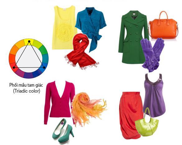 """7 cách phối màu đẹp giúp quần áo """"chất như nước cất"""""""