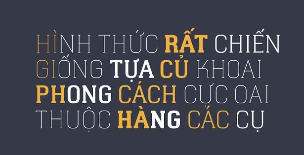 Mê mẩn với Top 5 Font chữ viết tay Việt hóa dành riêng cho dân thiết kế sản phẩm