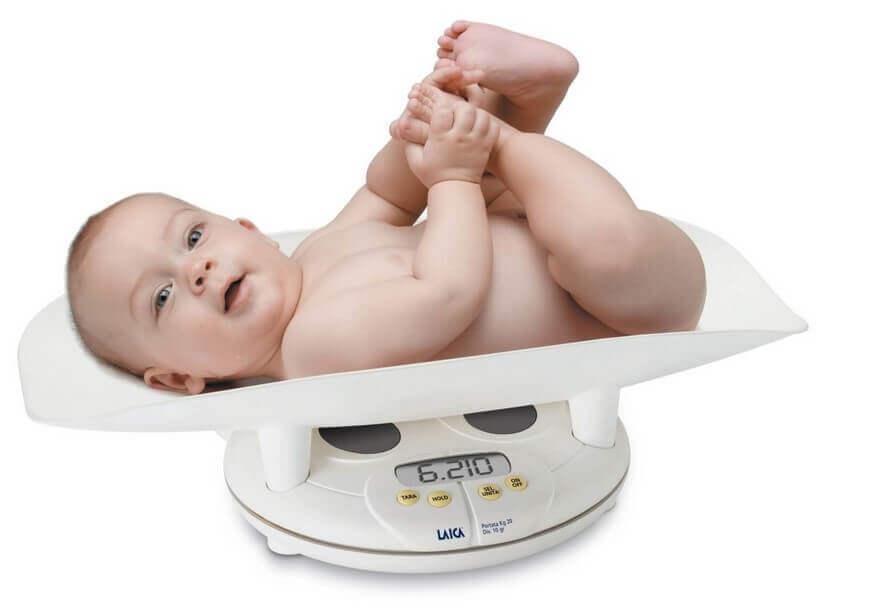 Bảng cân nặng của trẻ từ 0 đến 5 tuổi theo tiêu chuẩn WHO
