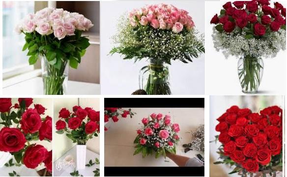 Bật mí 2 cách cắm hoa hồng để bàn ngày cưới đẹp mê ly