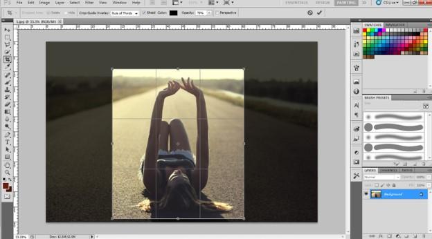 Gợi ý 3 cách Crop ảnh trong Photoshop bạn nên biết