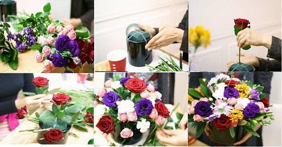 Hướng dẫn cách cắm hoa tỏa tròn tô điểm cho không gian của bạn