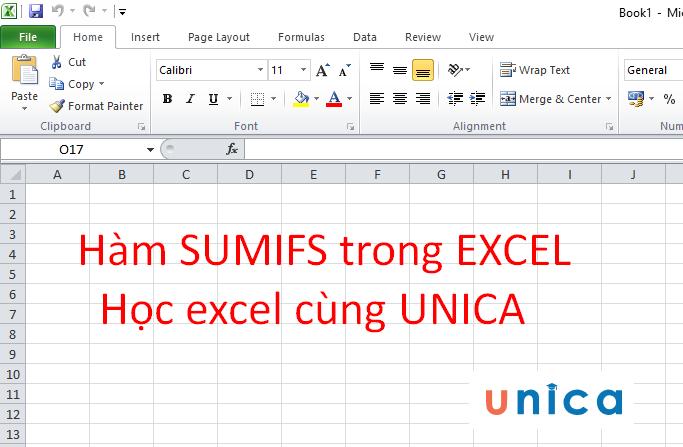 Hàm Sumifs và cách sử dụng hàm Sumifs trong Excel