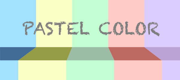 Mách bạn các ứng dụng cơ bản của màu Pastel