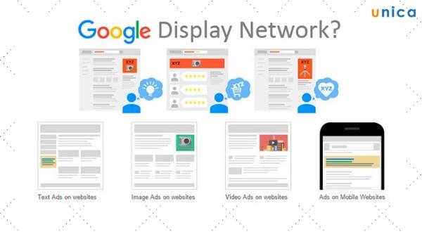 Quảng cáo mạng hiển thị Google Adwords