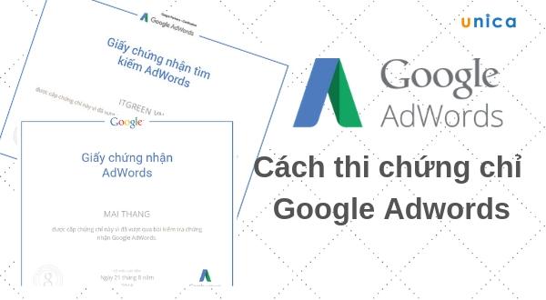 Cách thi chứng chỉ Google Adwords