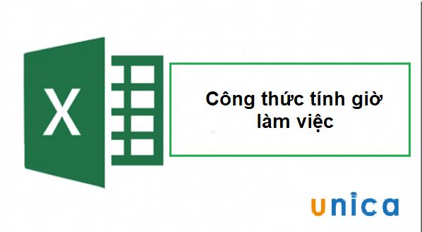 Công thức tính giờ làm việc đơn giản nhất trong Excel