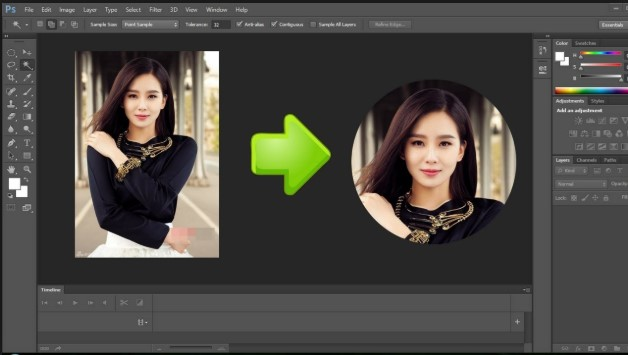 Hướng dẫn 3 cách cắt ảnh trong Photoshop nhanh nhất