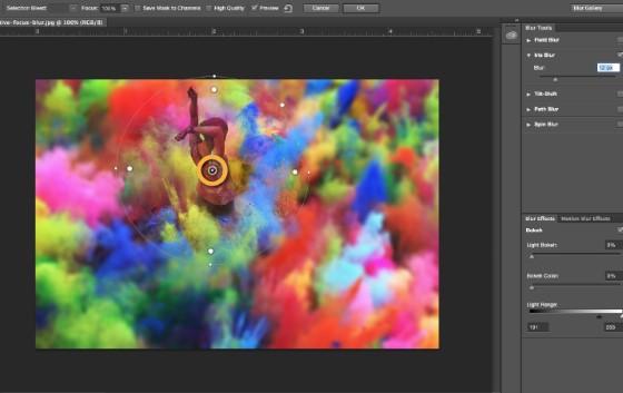 Hiệu ứng Blur trong Photoshop mà bạn không nên bỏ qua