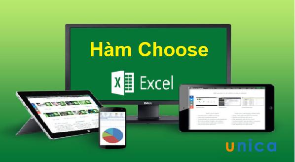 Hàm Choose và cách dùng hàm Choose trong Excel