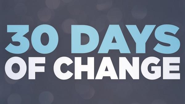 7 Cách thay đổi bản thân trong 30 ngày
