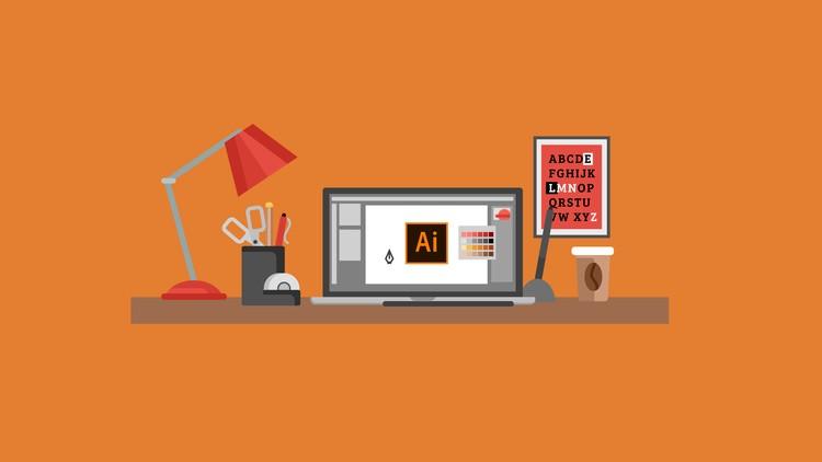 Điểm danh 3 bước tô màu Gradient cho text trong Illustrator