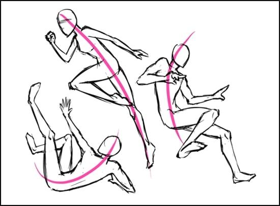 Bật mí cách vẽ dáng người đang chạy y như thật