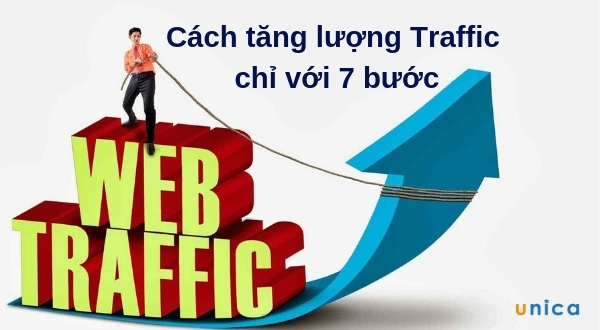 Cách tăng lượng Traffic chỉ với 7 bước