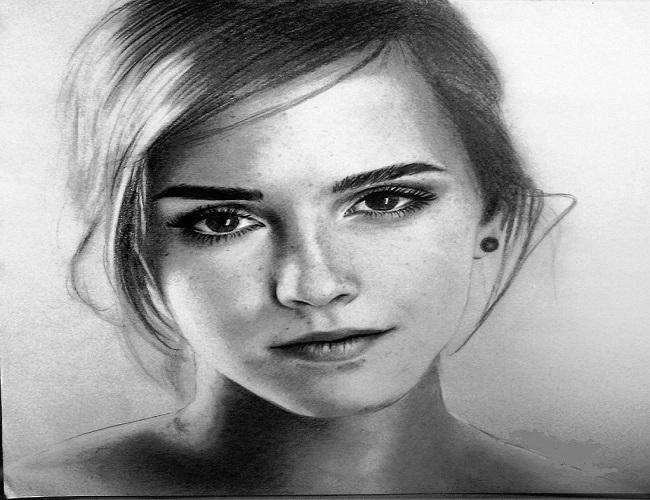 Hướng dẫn cách vẽ khuôn mặt người bằng bút chì
