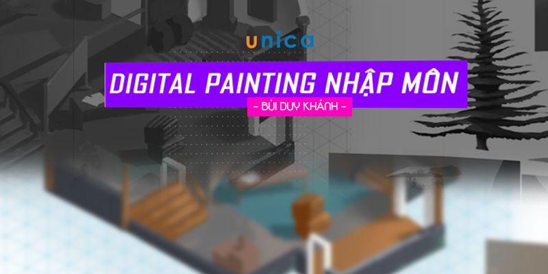 """Những ưu điểm bất ngờ của khóa học """"Digital Painting Nhập Môn"""""""