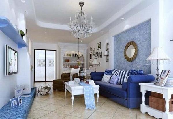 Cách trang trí nội thất phòng khách cho người mệnh Thủy
