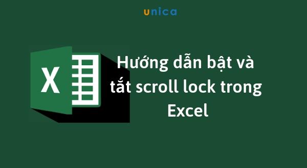 Thủ thuật đơn giản giúp bạn nhanh chóng bật và tắt scroll lock