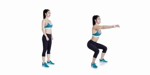 """""""Chân lý"""" cần nắm vững trong bài tập squat tăng vòng 3"""