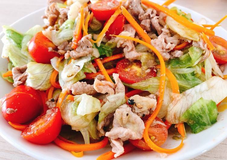 Bỏ túi 2 cách làm salad trộn thịt bò khiến chồng thích mê
