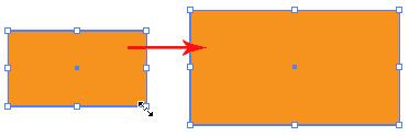 Đã tìm ra cách thay đổi kích thước đối tượng trong Illustrator