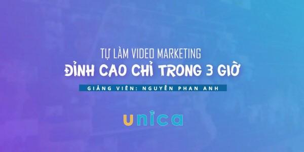 Làm video Marketing đỉnh cao chỉ trong 3 giờ